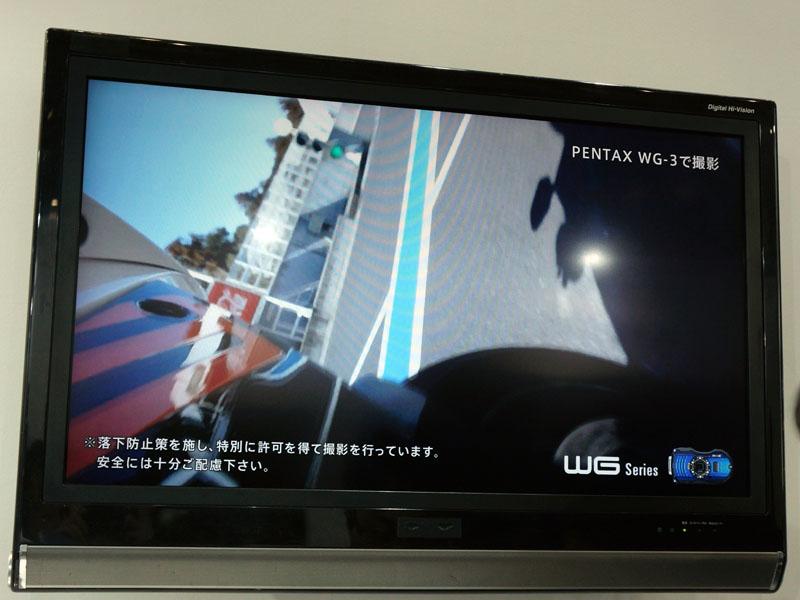 バイクの走行シーンを撮影した動画も紹介されている
