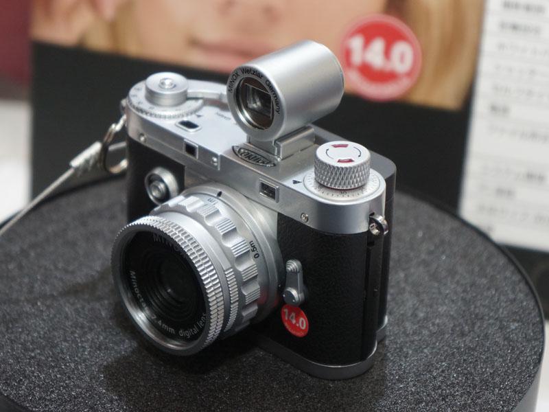 独ミノックスのカメラは現在はケンコー・トキナーの子会社であるケンコープロフェショナルイメージングが取り扱っているが、3月1日からはケンコー・トキナーが発売元となる
