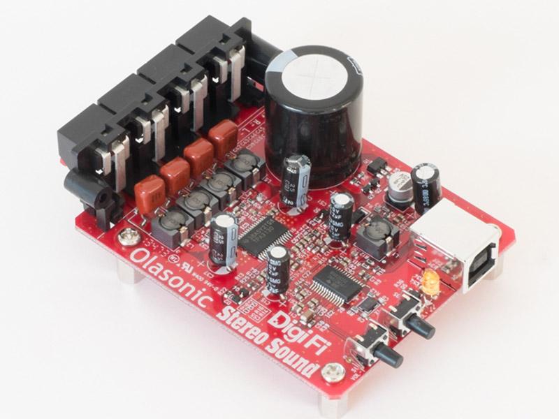 付録のUSB DAC付きパワーアンプ