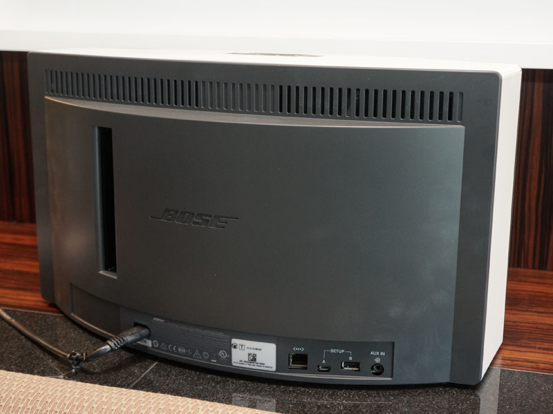 「SoundTouch 30」の背面