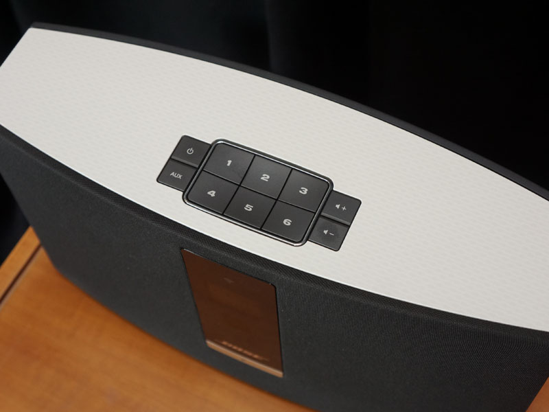 SoundTouch 20の天面