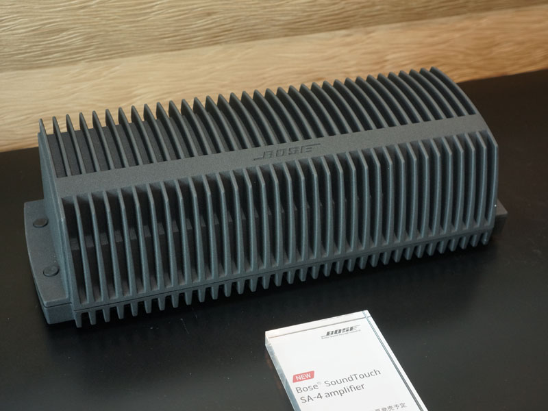 パワーアンプの「SoundTouch SA-4 amplifier」