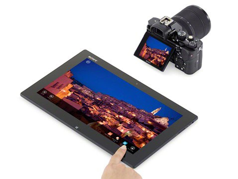 無線LAN対応カメラの制御もできる