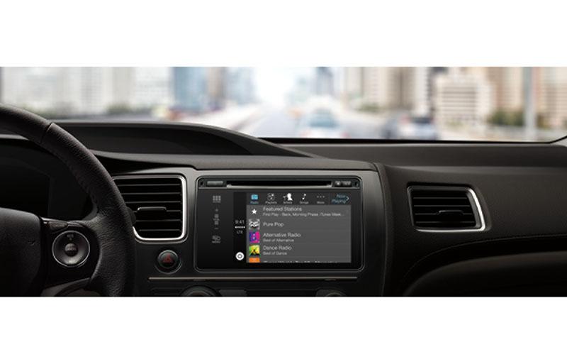 CarPlay。音楽コントロールにも対応