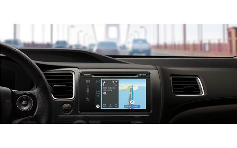CarPlayでMapを操作