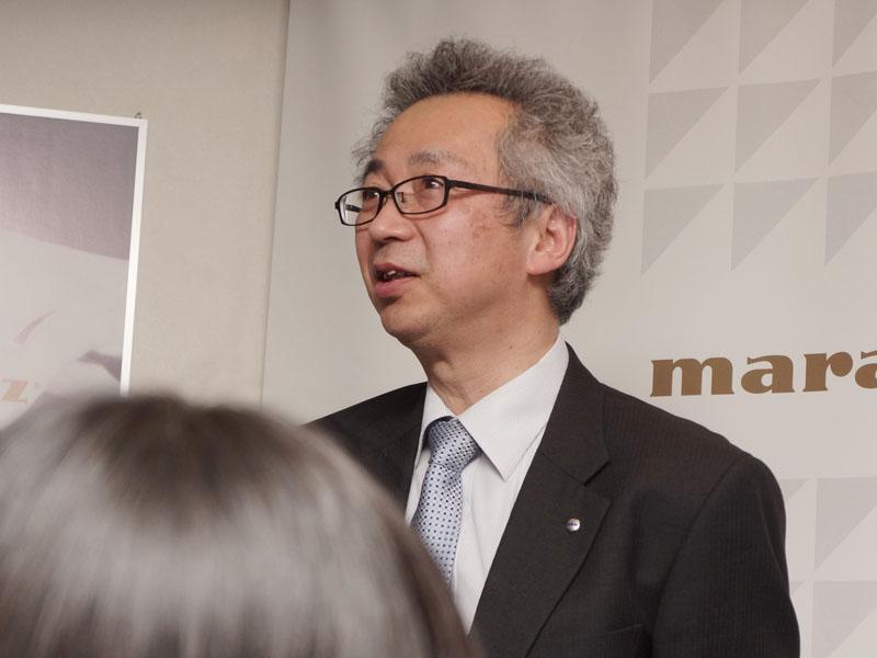 マランツ音質担当マネージャー 澤田龍一氏
