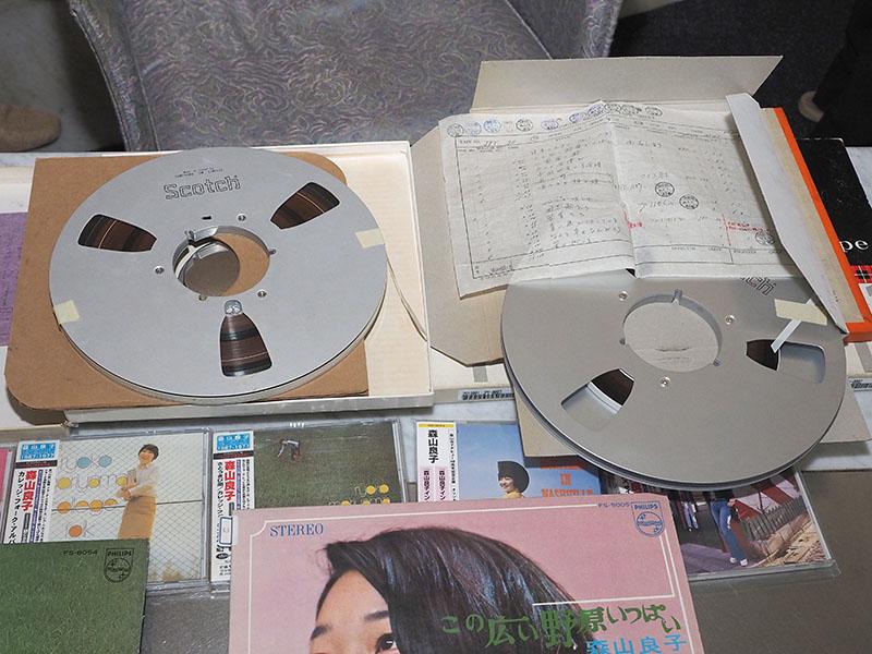 オリジナルの6mmマスターテープ