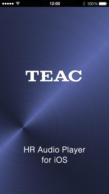 TEAC HR Audio Player for iOS