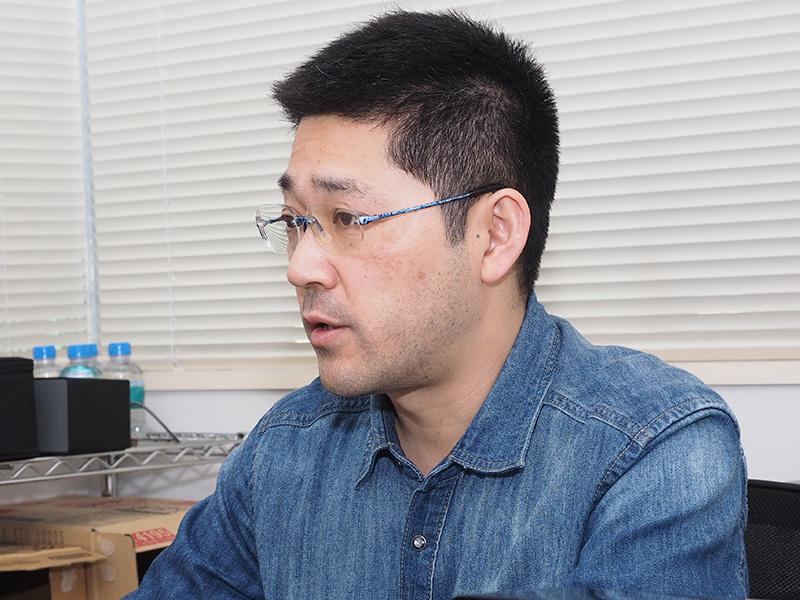 Trigence Semiconductorのセールス&マーケティング マネジャーの落合興一郎氏