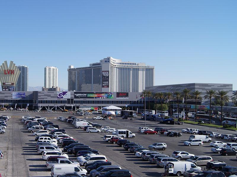 いつもの会場、ラスベガスコンベンションセンター