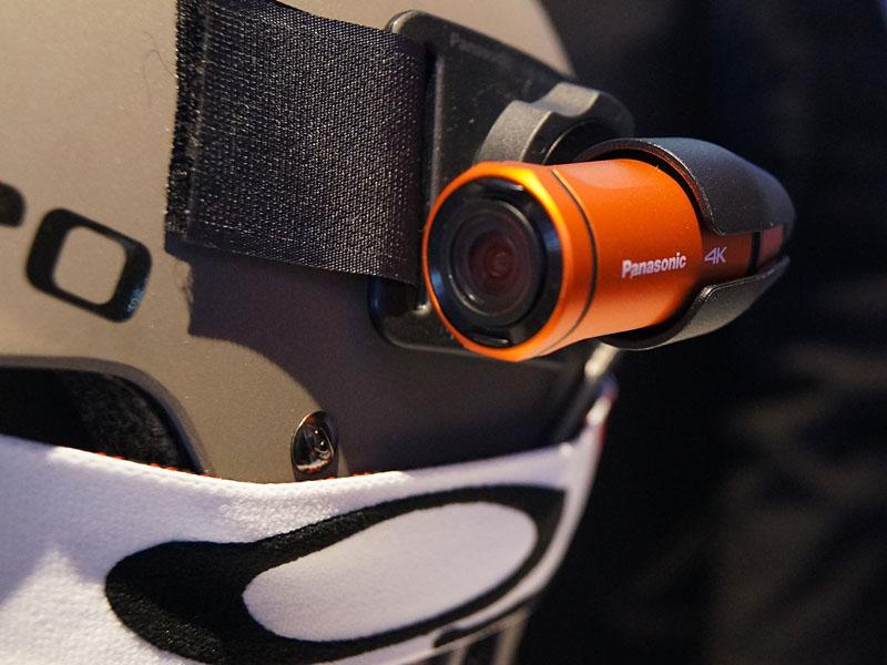 HX-A500のカメラ部