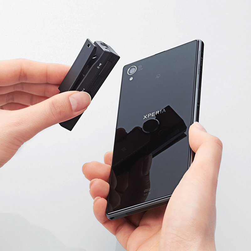 NFCでスマホとペアリングできる