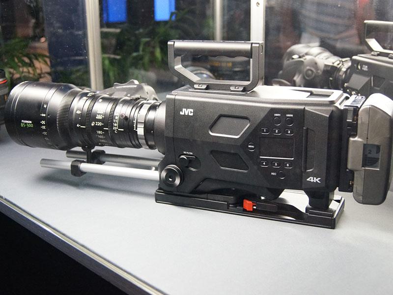 映像制作向け4Kカメラ、「GY-LSX1」