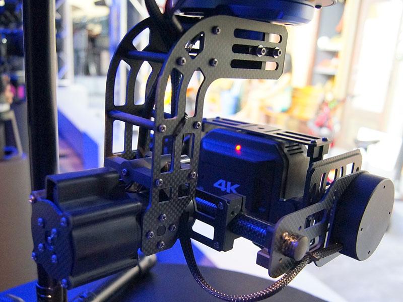 ジンバル込みのシステムカメラ、「GW-GBLS1」