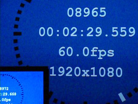 """遅延時間 109ms/6.5f<br class="""""""">(e-shift オフ/倍速駆動 オフ)"""