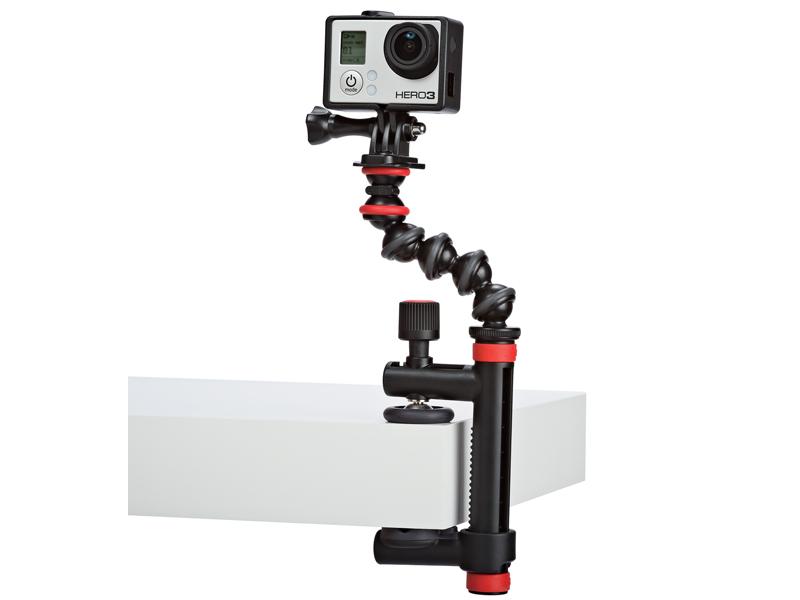 アクションクランプ&ゴリラポッドア-ム。カメラは付属しない
