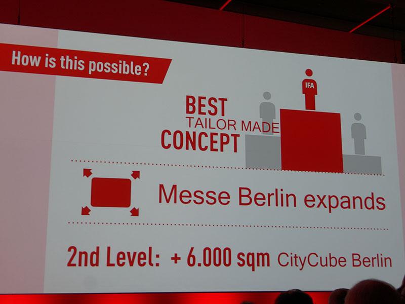 6,000m2のためにCityCube Berlinを新設