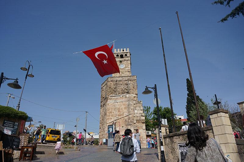 地中海に面した観光都市アンタルヤで開催された