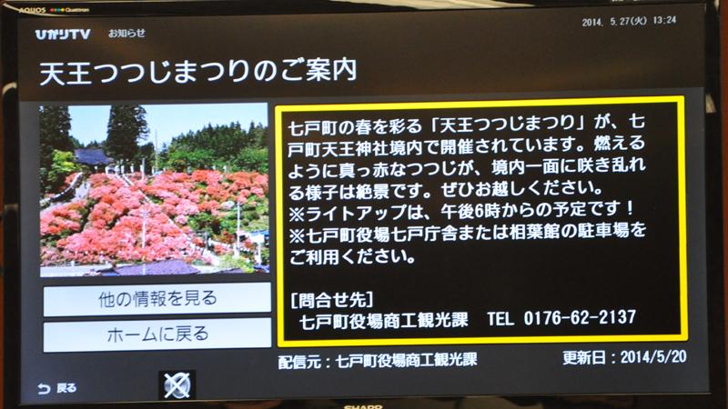 地域情報のイメージ