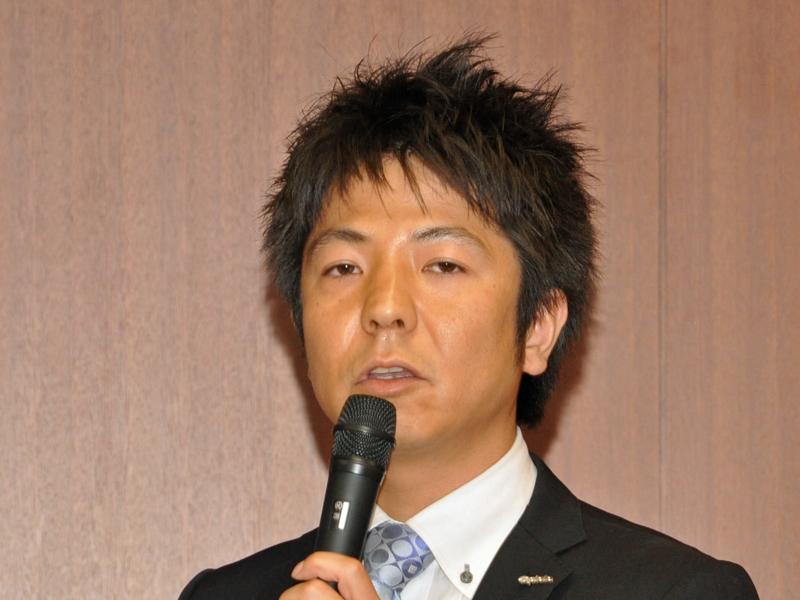 NTTぷらら技術本部サービス開発部の添田卓弘担当部長