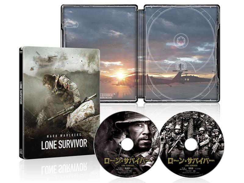 """ローン・サバイバー コレクターズ・エディション スチールブック仕様 Blu-ray 2枚組 4000セット数量限定生産<br class=""""""""><span class=""""fnt-70"""">(C)GEORGIA FILM FUND SEVENTEEN HOLDINGS.LLC.</span>"""