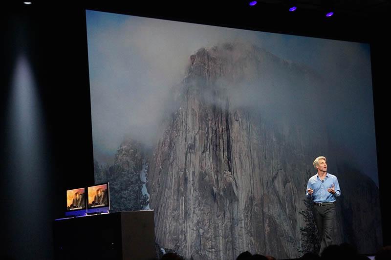 OS X新バージョンの名前は「Yosemite」。今秋、マックユーザー向けに無償提供される