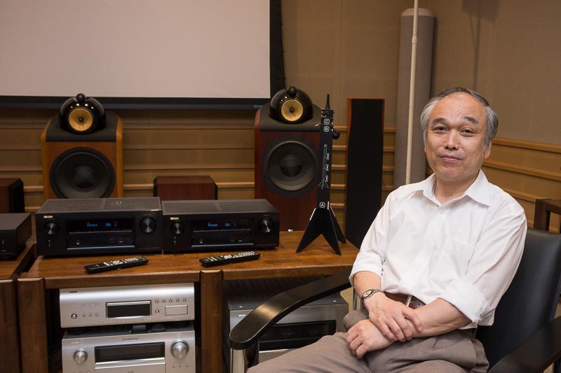 ディーアンドエムホールディングス CSBUデザインセンター デノンサウンドマネージャーの米田晋氏