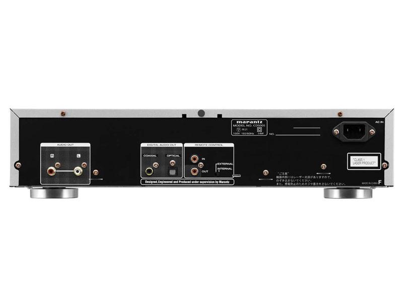 「CD5005」の背面