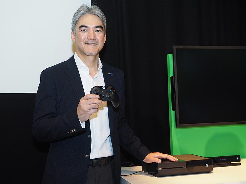 日本マイクロソフト 執行役 インタラクティブ・エンターテイメント・ビジネス ゼネラルマネージャーの泉水敬氏