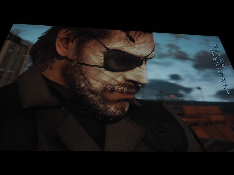国内でも発売されるゲームタイトルのトレーラーを上映した