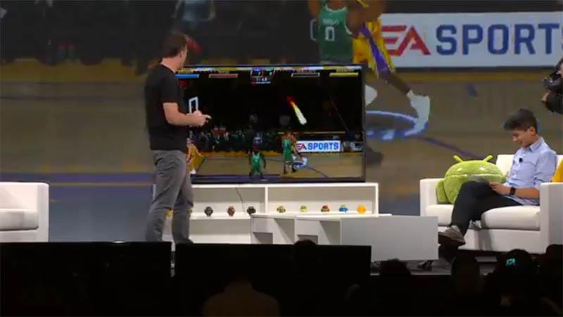 Android TVとタブレットで対戦ゲーム