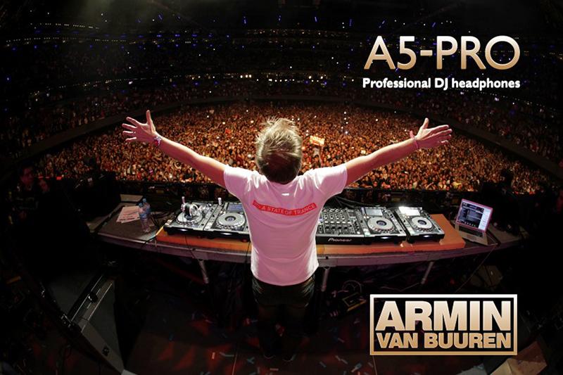 DJのアーミン・ヴァン・ブーレンと共同開発