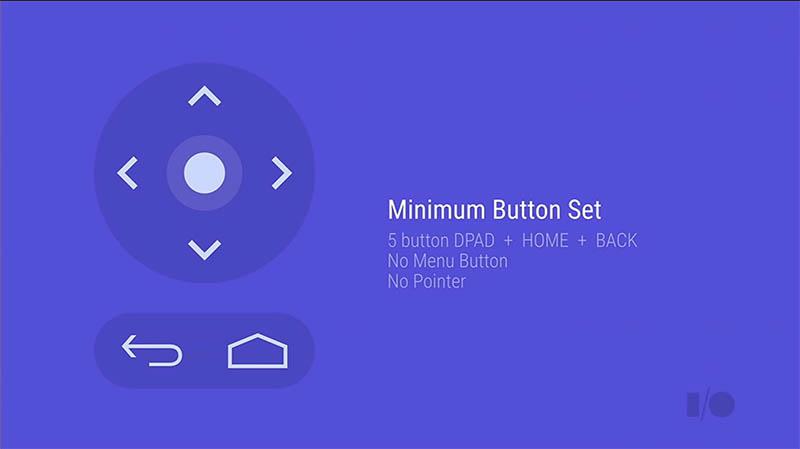 Android TVの操作は「シンプル」が基本。いままでのテレビ用リモコン以上にボタンの削減を狙う