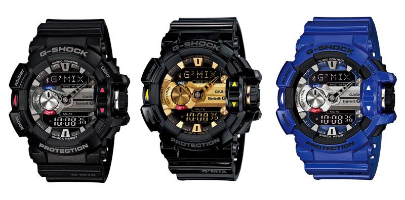 左からブラック×シルバー(1A)、ブラック×ゴールド(2A9)、ブルー×シルバー(2A)