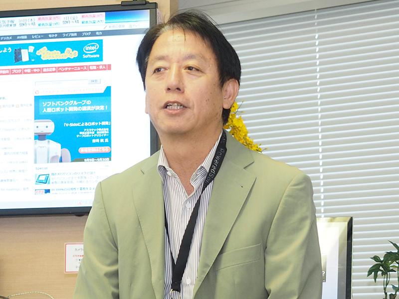 富士通ソーシアルサイエンスラボラトリ ソリューション戦略本部のソリューション企画開発部長の米澤一造氏