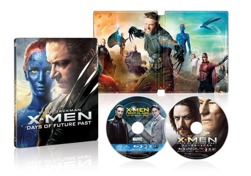 X-MEN:ファースト・ジェネレーション+フューチャー&パスト ブルーレイ版スチールブック仕様 2,000セット数量限定生産