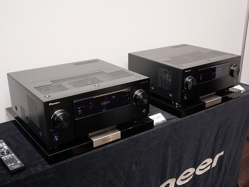 左から「SC-LX88」、「SC-LX78」