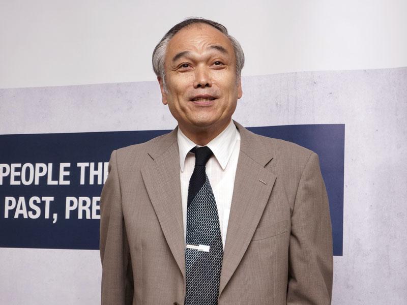 CSBUデザインセンター デノンサウンドマネージャーの米田晋氏