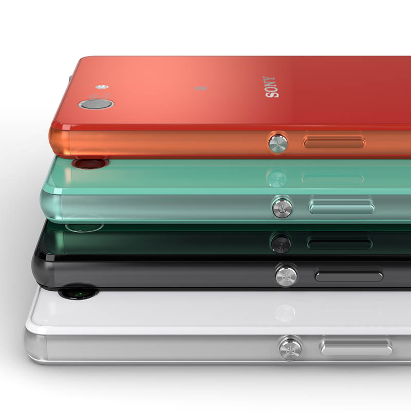 Xperia Z3 Compacctは4色展開