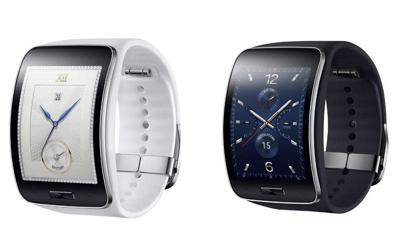 腕時計型のウェアラブルデバイス「Gear S」