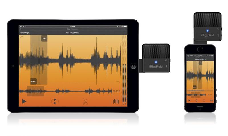 録音アプリ「iRig Recorder」も用意