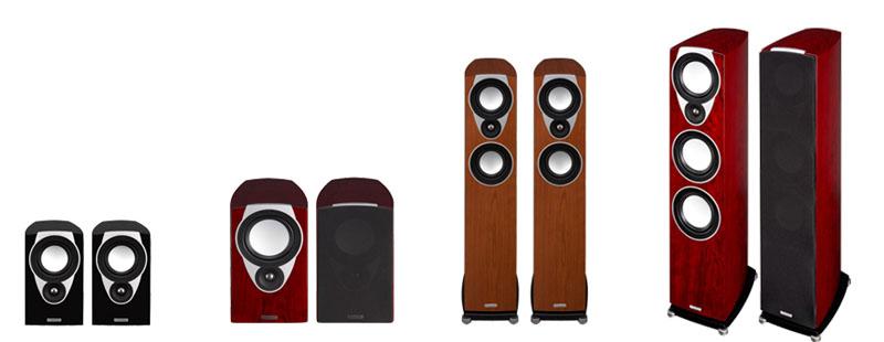 SXシリーズ。左からSX-1、SX-2、SX-3、SX-4