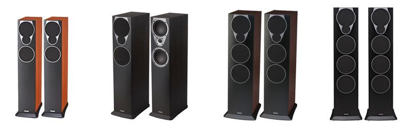 左からMX-3、MX-4、MX-5、MX-6