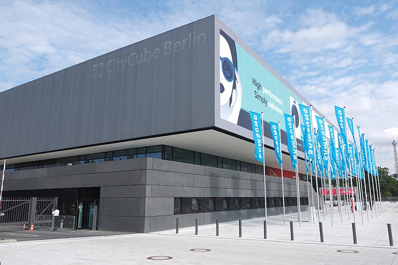 今回のIFAからお披露目された新ホール「CityCube」の2階展示は全てSamsungブース