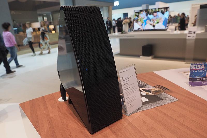 Wi-Fi/Bluetooth搭載スピーカーの「M7」