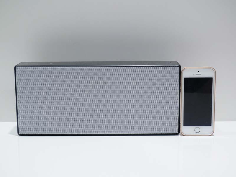 iPhone 5sとサイズ比較