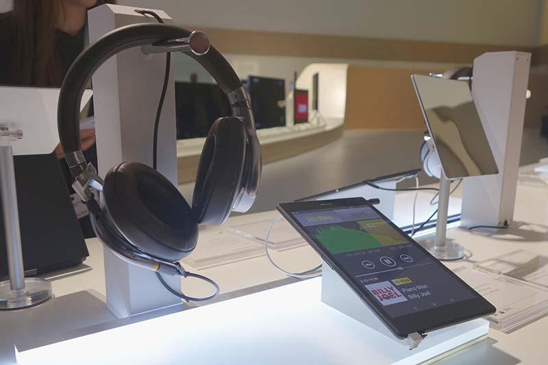 Z3シリーズ3機種は、すべてヘッドフォン出力でのハイレゾ対応