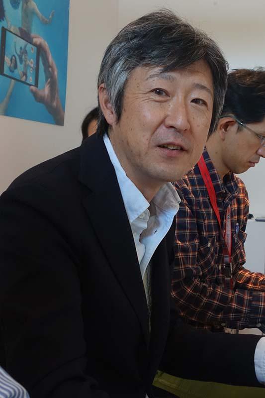 Z3など商品企画の統括責任者である、ソニーモバイル シニアバイスプレジデント 田嶋知一氏