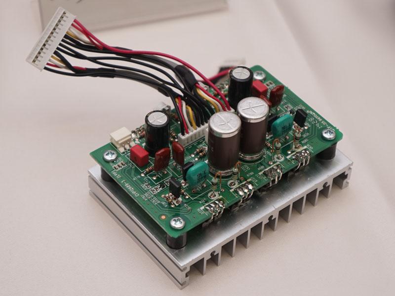 HD-DAC1のヘッドフォンアンプ回路