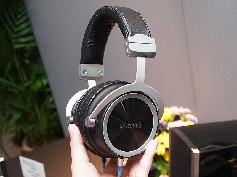 McIntosh初のヘッドフォン「MHP1000」